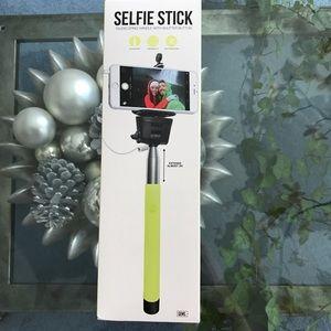 NIB Selfie Stick with Shutter Button